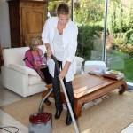 Støvsugning i hjemmet