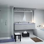 badeværelse med ulovligt gulvafløb og rengøring til miljø
