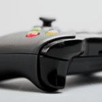 bagsiden af Xbox one controlleren