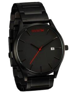 Black/black ur til mænd fra MVMT