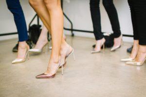Stilletter - sko med høje hæle